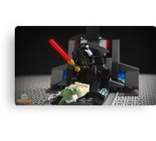 Darth Vader versus Yoda Canvas Print
