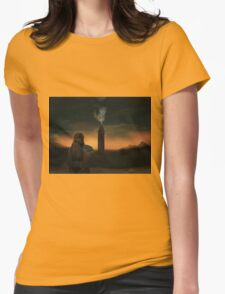 Lexa watching over Polis  Womens Fitted T-Shirt