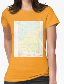USGS TOPO Map Alaska AK Kenai D-2 NW 353728 1986 25000 Womens Fitted T-Shirt