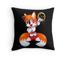 Classic Tails Throw Pillow
