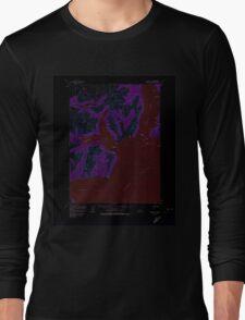 USGS TOPO Map Alaska AK Iliamna C-2 356263 1958 63360 Inverted Long Sleeve T-Shirt