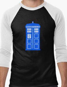 Blue Box Resistance Men's Baseball ¾ T-Shirt