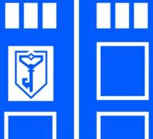Blue Box Resistance Sticker