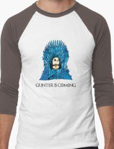 Gunter is Coming Men's Baseball ¾ T-Shirt