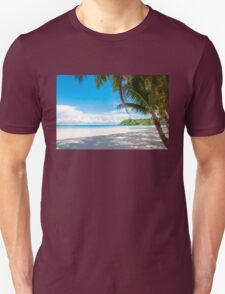 Beautiful tropical beach Unisex T-Shirt