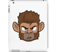 Cool Monkey With Cigar iPad Case/Skin