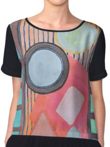 Trapped between two Worlds Chiffon Top