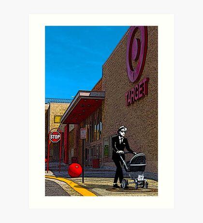 Rude Boy Goes to Target Art Print
