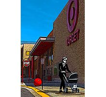 Rude Boy Goes to Target Photographic Print