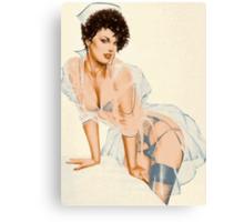 Scanty Nurse Canvas Print