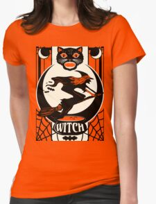 Witchy Womens Fitted T-Shirt
