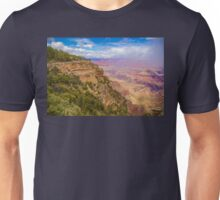 USA. Arizona. Grand Canyon. Fog lifting off Canyon. Unisex T-Shirt