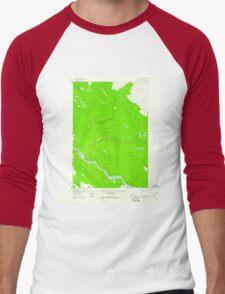 USGS TOPO Map Alaska AK Valdez D-3 360379 1958 63360 Men's Baseball ¾ T-Shirt