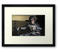 Matthew & Bear Framed Print