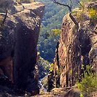 Tunnel View Lookout, Blue Mtns National Park, NSW by GeorgeOne