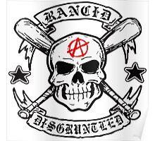 Rancid bone punk music Poster