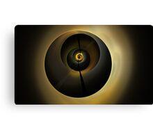 Olive Spheres Canvas Print