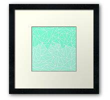 Becho Rays Framed Print