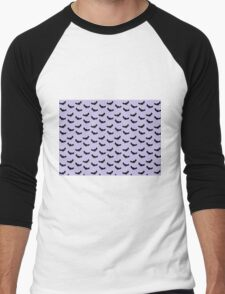 Batty - Lilac Men's Baseball ¾ T-Shirt