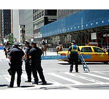 Do Not Cross - Police Line Photographic Print