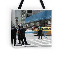 Do Not Cross - Police Line Tote Bag