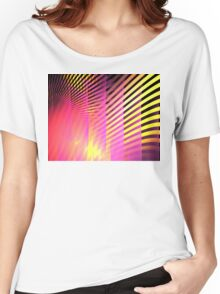 Pink Skyscrapers Women's Relaxed Fit T-Shirt