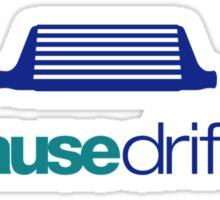 Because drift car (3) Sticker