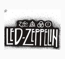 Led Zeppelin Band Logo by Jonah Mergard