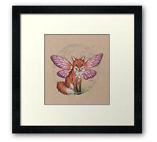 Sly Fox? Flying Fox? FoxFly. Framed Print