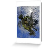 Stepping Stones Across Kilkeel River, County Down Greeting Card