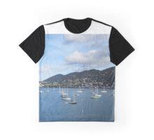 St. Thomas Sailboats Graphic T-Shirt