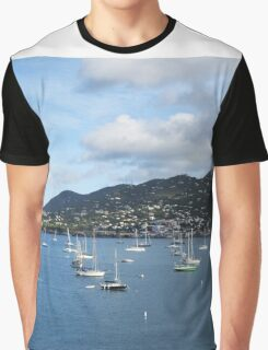 St. Thomas Sailboats Graphic T-Shirt