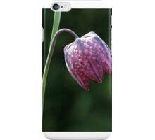 Snakeshead Fritillary iPhone Case/Skin