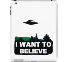 The X Files iPad Case/Skin