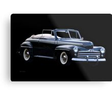 1947 Ford Deluxe Convertible Metal Print
