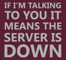 Server Is Down II by Andrew Alcock