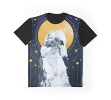 Celestial Borzoi Graphic T-Shirt