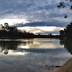 Sundown on the Murray by Cindy Hitch