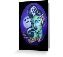 Graveyard Queen Greeting Card