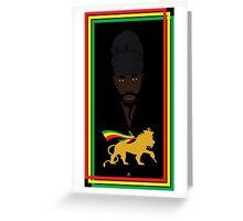 Sizzla Rastafari Greeting Card