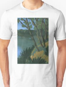 Trees by Water Unisex T-Shirt