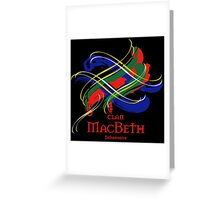 Clan MacBeth  Greeting Card