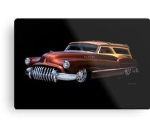 1950 Buick Custom Woody Wagon Metal Print