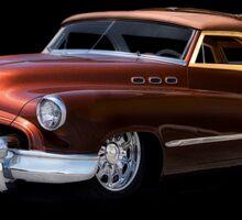 1950 Buick Custom Woody Wagon Sticker