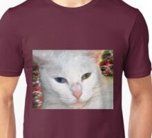 Beautiful companion on abstract background2 Unisex T-Shirt