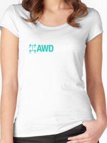 AWDSOME (3) Women's Fitted Scoop T-Shirt