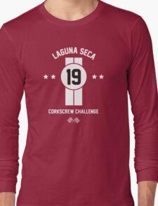Laguna Seca - White Long Sleeve T-Shirt