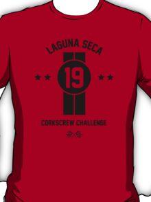 Laguna Seca - Black T-Shirt
