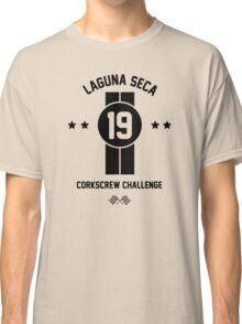 Laguna Seca - Black Classic T-Shirt