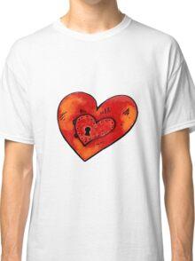 Metal heart Classic T-Shirt